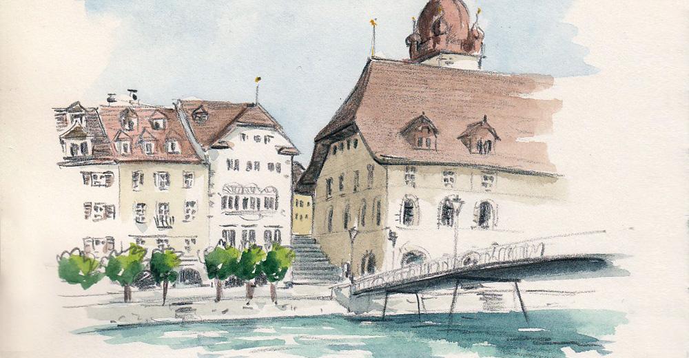 Sonntag, 26. Juli 2020, Sketchrawl Altstadt, Luzern
