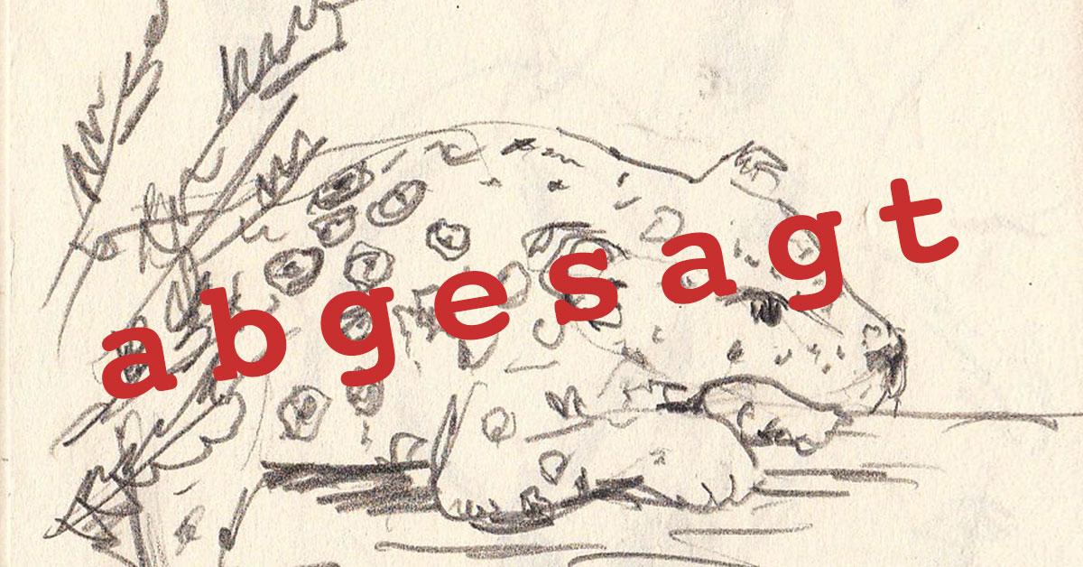 Sonntag, 25. Oktober, Sketchrawl Tonis Zoo