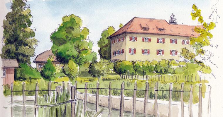 30. Mai 2021, Sketchcrawl Kapuzinergarten Wesemlin