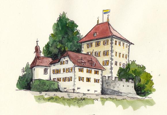 31. Oktober 2021, Sketchcrawl Schloss Heidegg